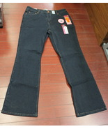 Womens Signature by Levi  Slimming At-Waist Bootcut Jeans Size Misses 16 Long  - $3.95