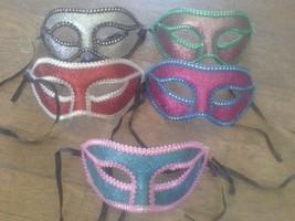Sparkle Glitter & Lace MASQUERADE EYE MASK carnival mardi gras venetian ... - €5,98 EUR