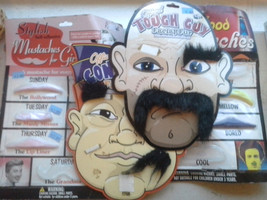 Huge Lot Self Adhesive Facial Hair Mustache & Eyebrows disguise - £7.24 GBP