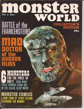 Warren Monster World #1 Collector's Edition Battle Of The Frankensteins ... - $19.95