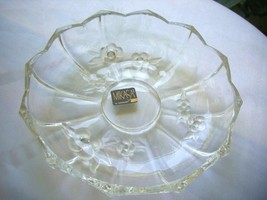 "Mikasa 7"" Crystal Low Bowl made in West Germany - $19.79"
