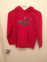 Boys Red puma hoodie size M - $17.72