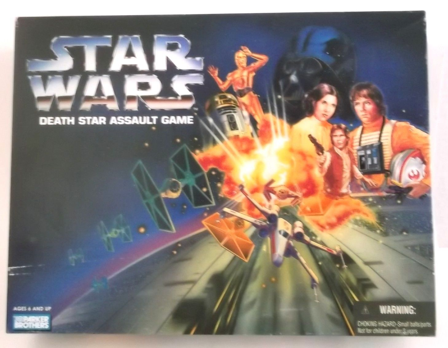 STAR WARS DEATH STAR ASSAULT GAME 1995 Parker Brothers 40390  - $24.99