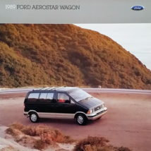 1989 Ford AEROSTAR WAGON sales brochure catalog US 89 Eddie Bauer - $6.00
