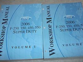 2006 Ford TRUCK F-250 F250 350 450 550 Super Duty Service Repair Manual ... - $274.98