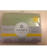 Carter's Baby Knit Bassinet Mattress Sheet Sage C111BFS - $17.00