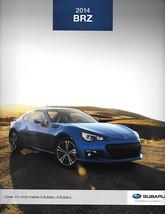 2014 Subaru BRZ sales brochure catalog US 14 GT 86 - $12.00
