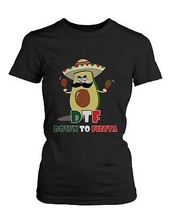 Women's Funny Graphic Tee - Avocado Down To Fiesta - €12,87 EUR+