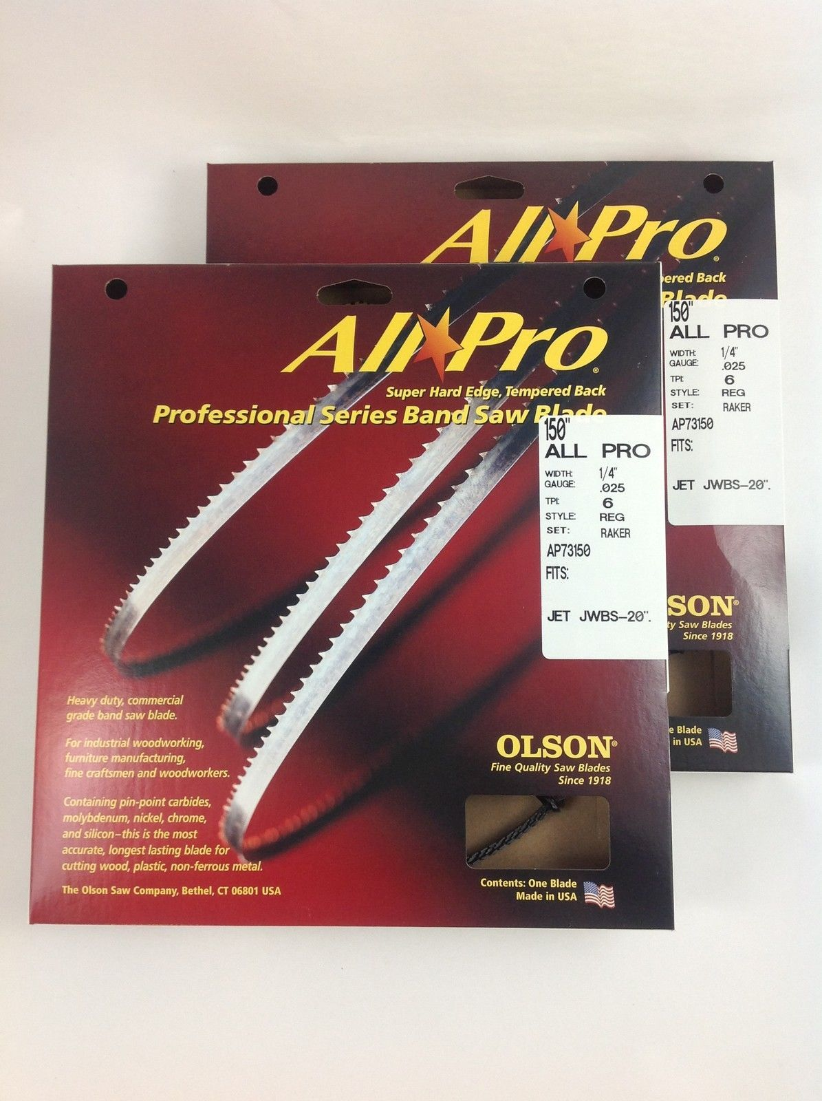 Olson All-Pro Band Saw Blades 150