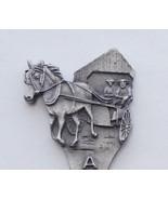Collector Souvenir Spoon Amish Country Horse Bu... - $12.99