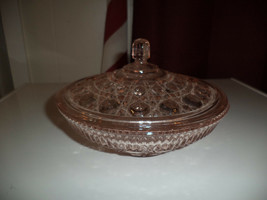 Diamond Cut Indiana Pink Candy Dish - $19.99