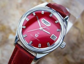 Citizen Seven Star Manual Day Date 1960s Made in Japan Dress Watch for M... - $881.66 CAD