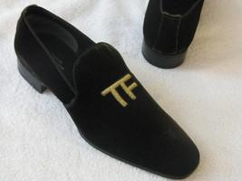 Mens Fashion Velvet Shoes, Men casual Velvet embroidered slippers - $144.99