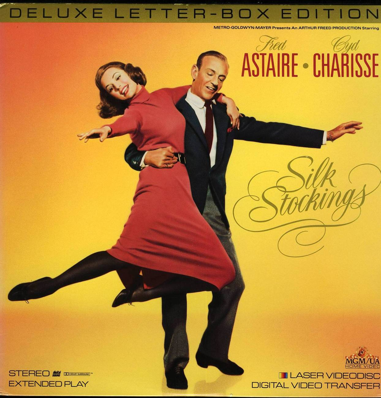 SILK STOCKINGS LTBX CYD CHARISSE  LASERDISC RARE