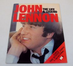 John Lennon: The Life & Legend ~ A Special Tribute by The Sunday Times - $19.55
