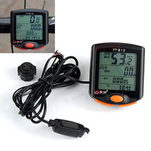 LED Display Cycling Bicycle Bike 24 Functions Computer Odometer Speedome... - €16,75 EUR