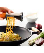Vegetable Spiral Slicer Spirelli Kitchen Spiralizer Julienne Cutter - $10.32