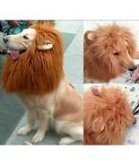 Pet Costume Lion Mane Wig for Large Dog Halloween/Chirstmas pet cosplay ... - $22.54
