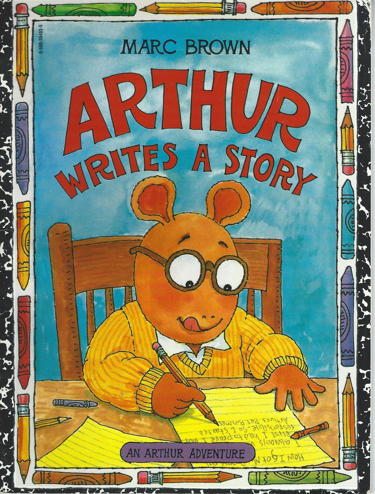 Arthur writes a story paperback 001