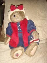 Boyds Bears Liza GloryBear Americana Plush Patriotic Bear - $24.99