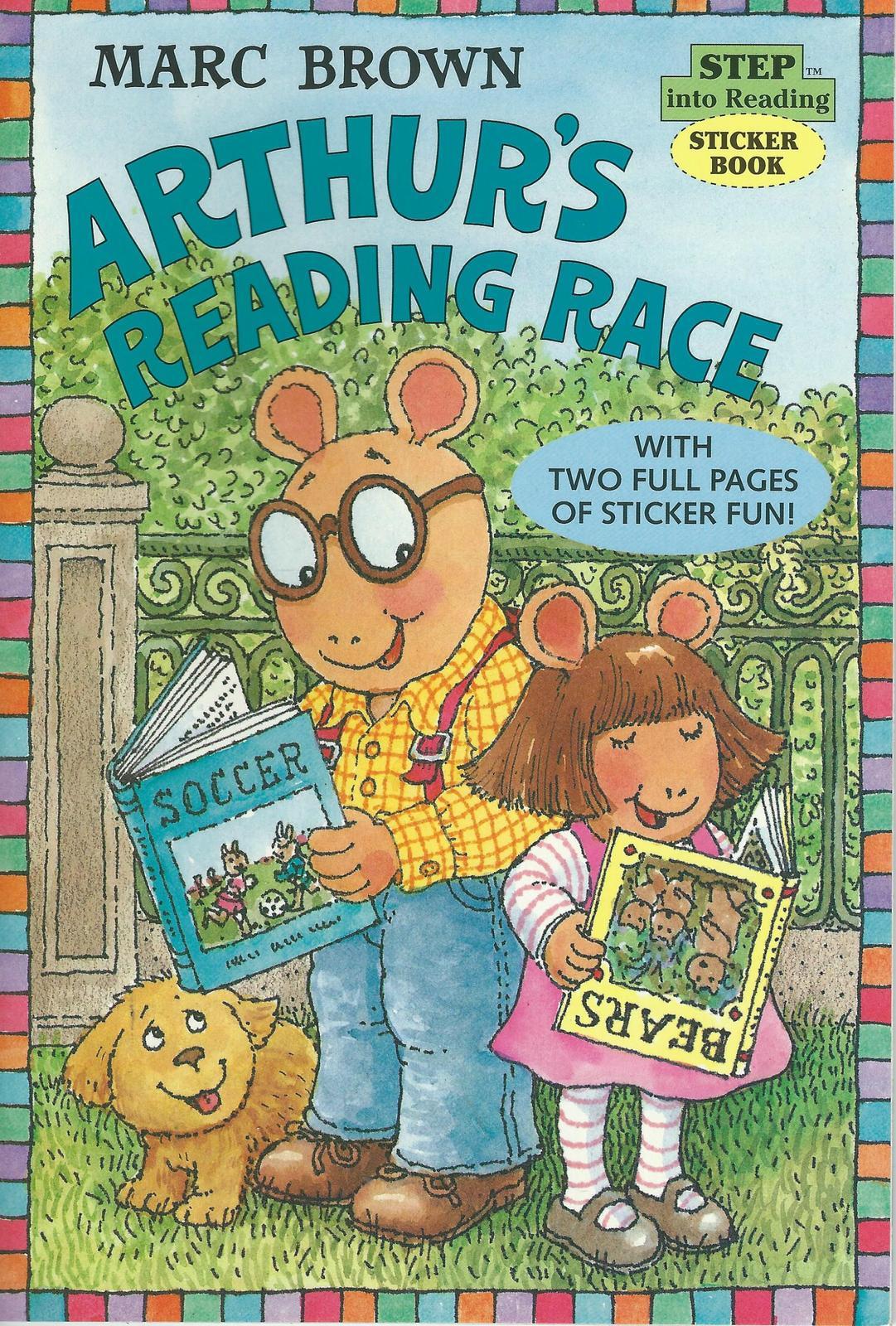 Arthur s reading race paperback 001