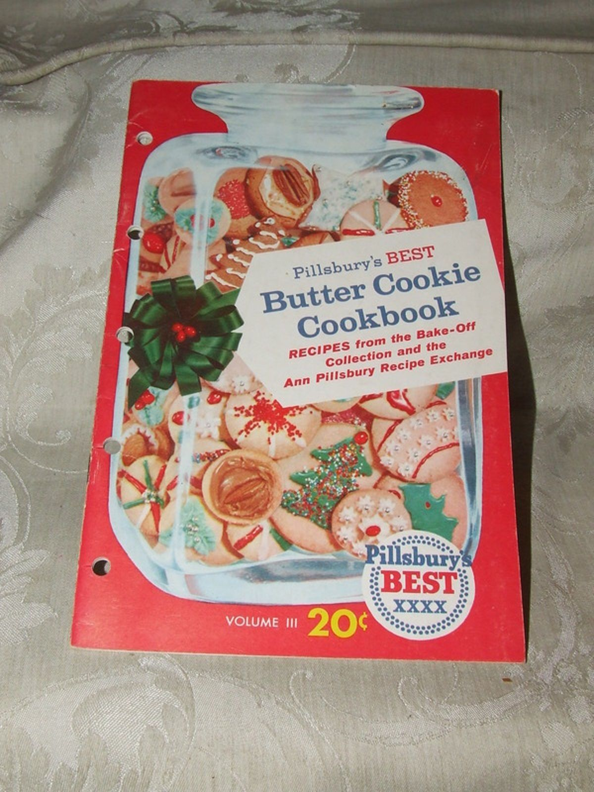 Primary image for c1958 Pillsbury's Best Butter Cookie Cookbook Vol III Booklet 50 pages BAKE-OFF