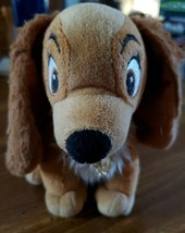 "Disney""s Lady & and the Tramp Plush 7""  Lady Dog Just Play - $4.95"