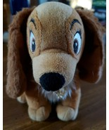 """Disney""""s Lady & and the Tramp Plush 7""""  Lady Dog Just Play - $4.95"""