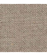 Natural Silver 32ct Linen 17x19 cross stitch fabric Fabric Flair - $14.90