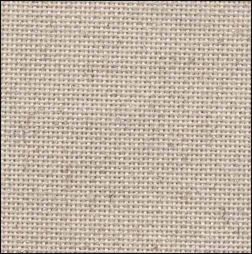 Primary image for Oatmeal Silver 25ct evenweave 35x39 cross stitch fabric Fabric Flair