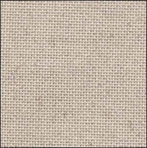 Oatmeal Silver 25ct evenweave 35x39 cross stitch fabric Fabric Flair - $52.20