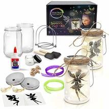 Fairy Nightlight Lantern Craft Kit (2 Pack) - DIY Make Your Own (Fairy L... - $49.05