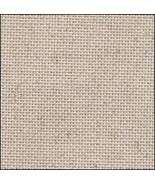 Oatmeal Silver 25ct Linen 17x19 cross stitch fabric Fabric Flair - $13.05