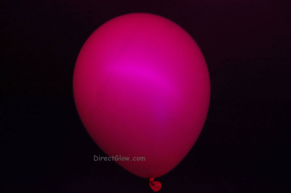 11 inch Magenta Blacklight Reactive Latex Balloons- 50 pack