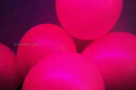 11 inch Magenta Blacklight Reactive Latex Balloons- 100 - $29.95