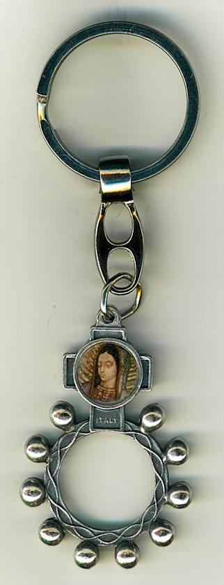 Key ring   finger rosary 105.0389 001