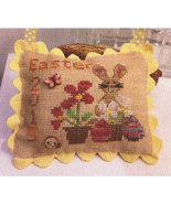 Easter 2015 FREEBIE BUNDLE floss buttons cross stitch chart Mani di Donna - $25.00