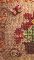 Easter 2015 FREEBIE BUNDLE floss buttons cross stitch chart Mani di Donna
