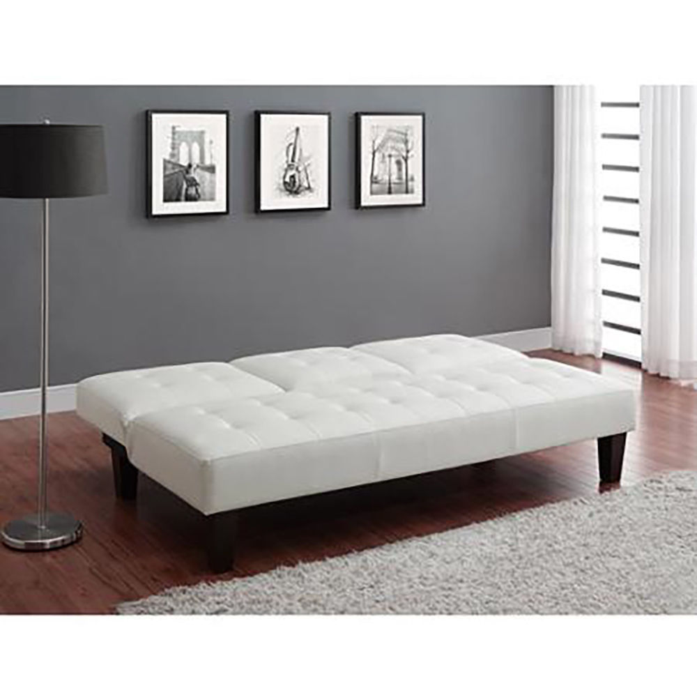 Luxury Futon With Julia Cupholder Convertible Sofa Bed