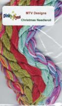 SILK FLOSS PACK for Christmas Needleroll cross stitch MTV Designs Dinky ... - $18.00