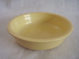 Fiesta Light Yellow Stacking Soup Cereal Bowl Fiestaware Contemporary - $24.00