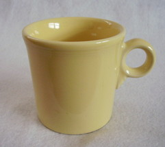 Fiesta 80s Light Yellow T & J Mug Fiestaware Contemporary - $28.00
