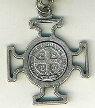 "Key Ring - St. Benedict Medal - 1 1/2"" x 1 1/2"" - L105.0578 image 4"
