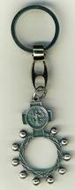 Key Ring - St. Benedict Medal - Finger Rosary - 105.0228