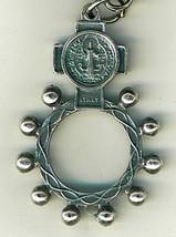 Key Ring - St. Benedict Medal - Finger Rosary - 105.0228 image 2