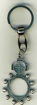 Key Ring - St. Benedict Medal - Finger Rosary - 105.0228 image 3