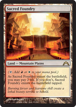 "Magic the Gathering MTG ""Sacred Foundry"" Card x2 * NM - $18.88"