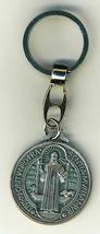 """Key Ring - St. Benedict Medal - 1 1/4"""" in diameter - L105.0413 image 1"""