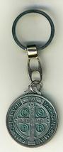 """Key Ring - St. Benedict Medal - 1 1/4"""" in diameter - L105.0413 image 3"""
