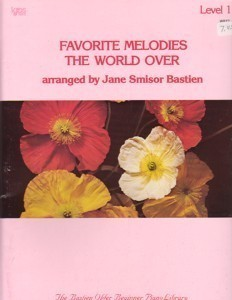 Bastien Favorite Melodies The World Over Level 1